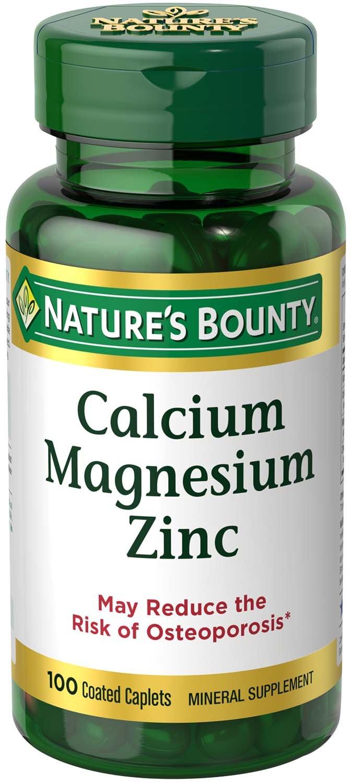 Nature S Bounty Calcium Magnesiuim Zinc