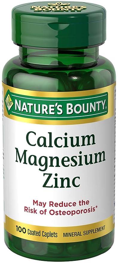 CALCIO+MAGNESIO+ZINC 100COMP