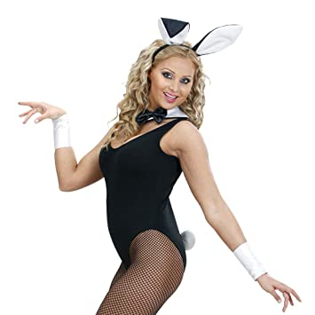 be48f1332f Bunny Rabbit Costume 4–Piece Set Rabbit Ears Tail Collar Cuff Costume Sexy  Bunny Playboy