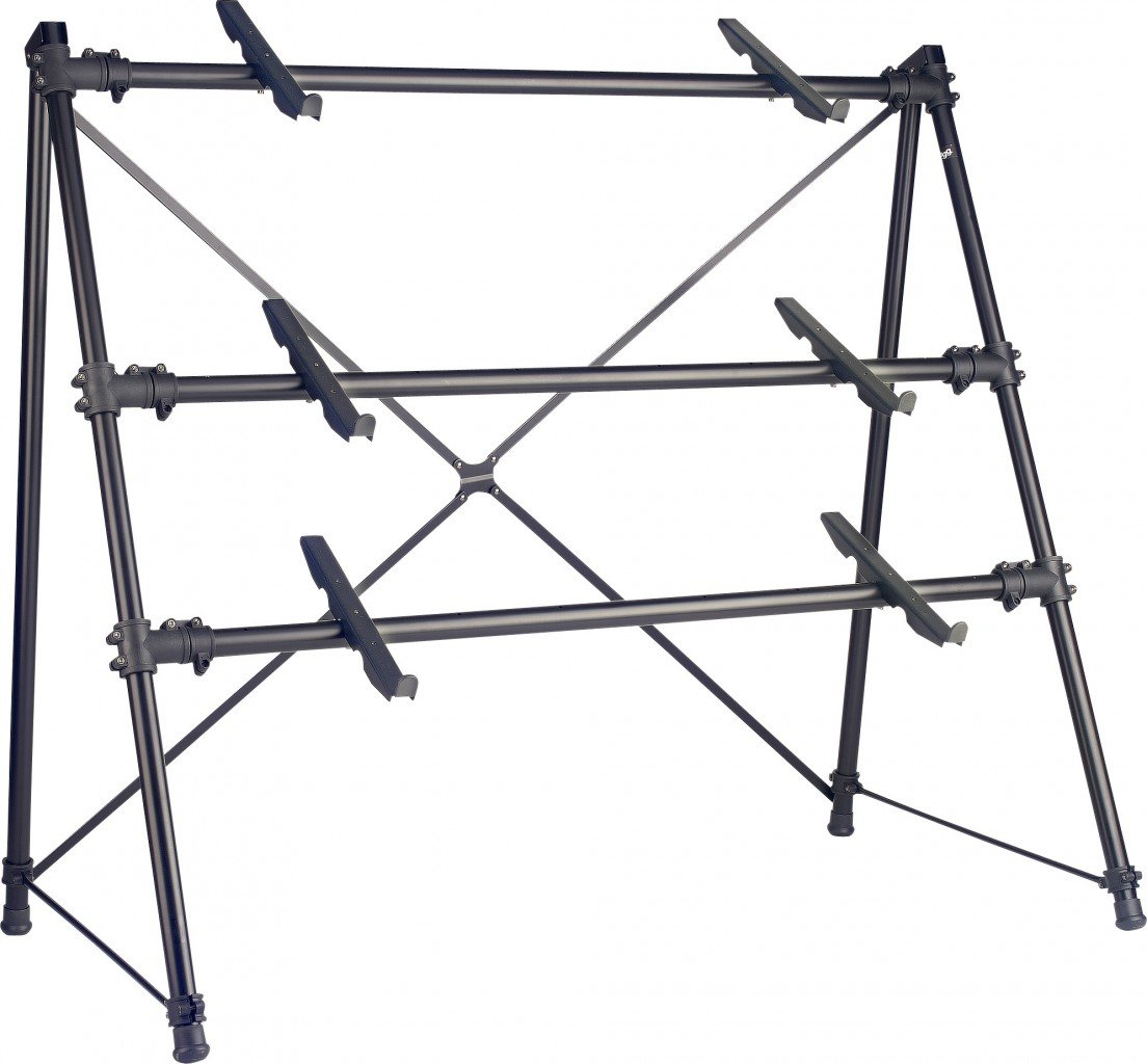 Amazon.com: Stagg KXS-C34BK 3 Tier Keyboard Stand: Musical Instruments