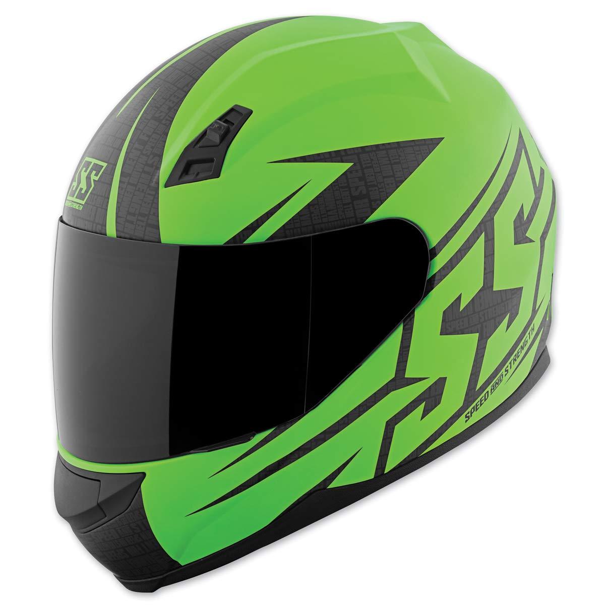 スピード&強度SS700ヘルメット - ハンマーダウン(大)(マットグリーン)   B01KEI3HJI
