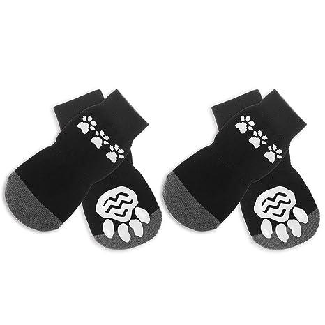 Calcetines antideslizantes para perros Scirokko, botas para proteger las patas de tu mascota en interiores