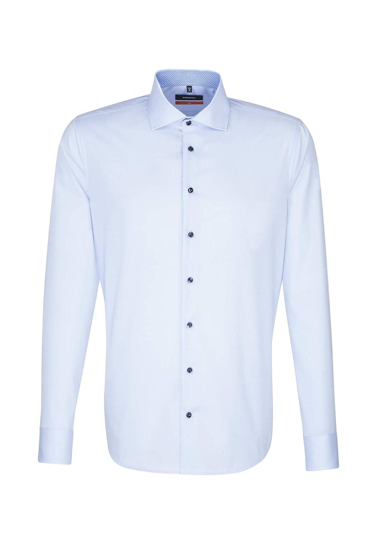 TALLA 40. Seidensticker - Camisa Formal - Liso - Clásico - Manga Larga - para Hombre