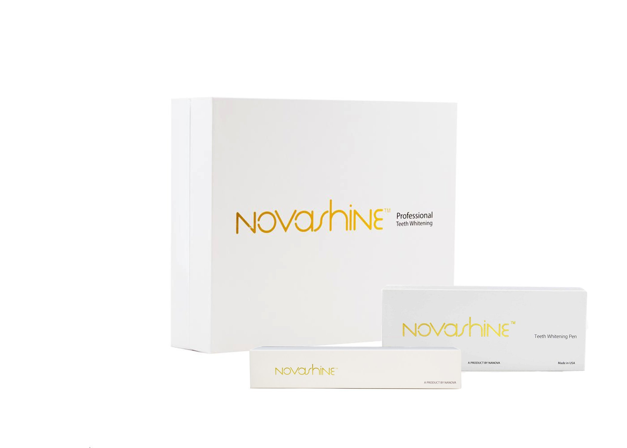 The Ultimate Novashine Bundle (Whitening Kit + Refill + Whitening Pen)