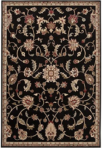 Jabari Dark Brown Traditional Area Rug 2 x 3 3