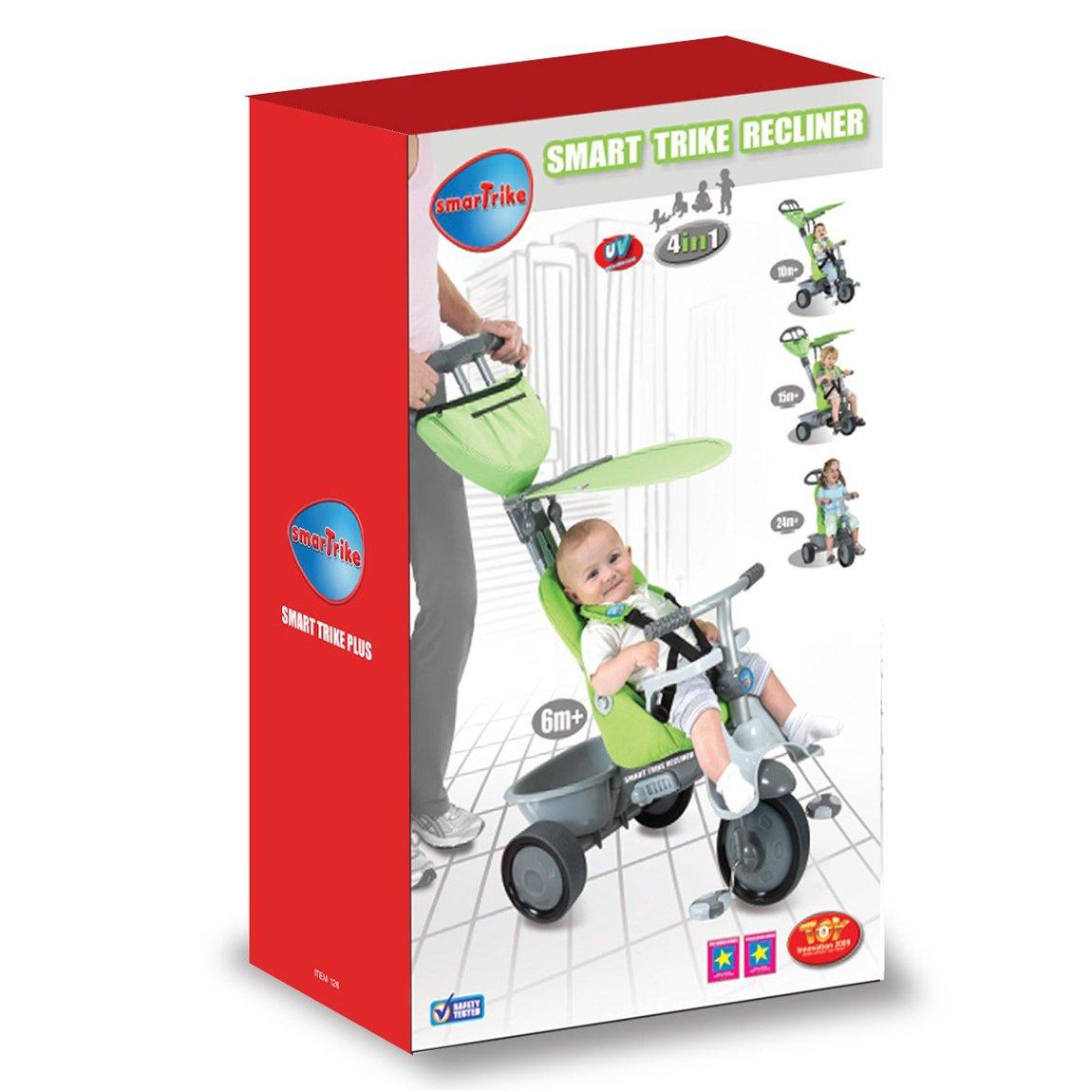 sc 1 st  Amazon UK & SmarTrike Recliner 4-in-1 - Green: Amazon.co.uk: Toys u0026 Games islam-shia.org