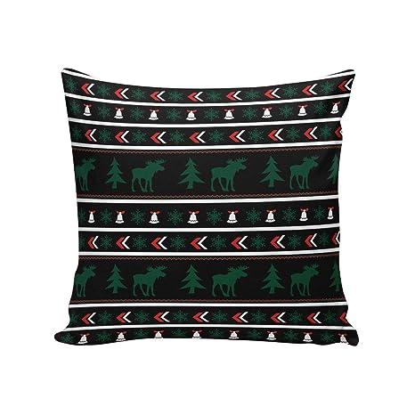 Amazon.com: DCGARING - Funda de almohada cuadrada con diseño ...