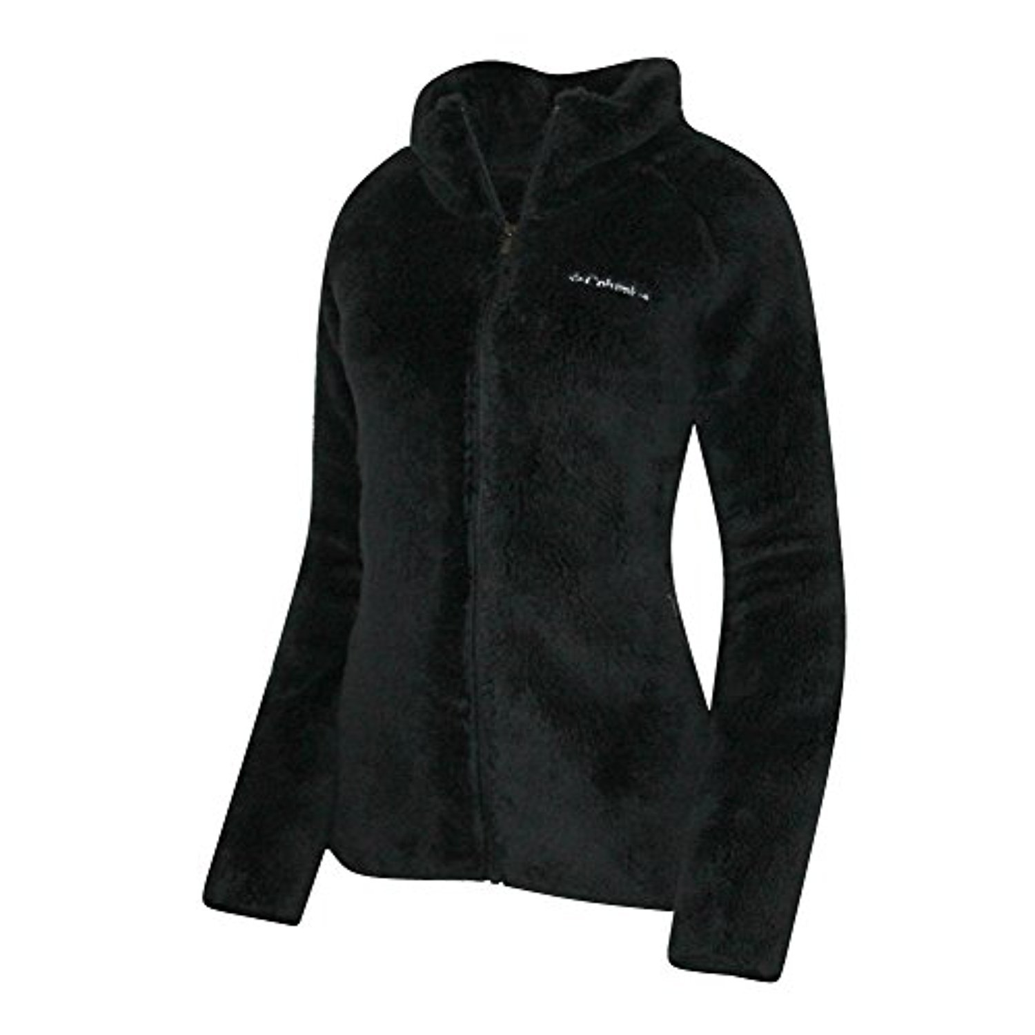 63b5d16f4 Columbia Women's Fast Beauty Plush Super Soft Full Zip Jacket Black