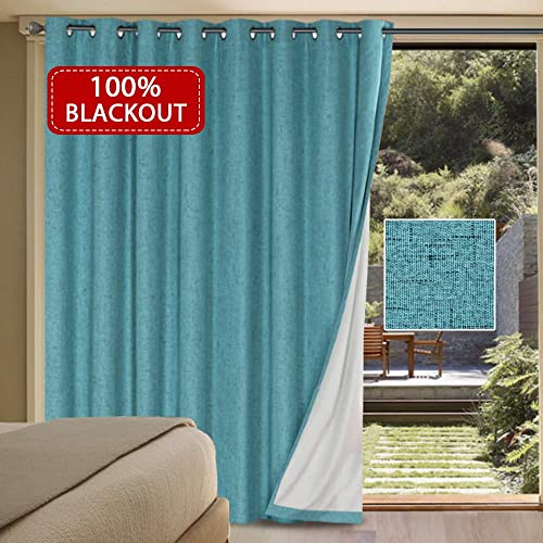 sliding window blinds panel track hversailtex 100 blackout drapes for sliding glass door waterproof faux linen door blinds amazoncom