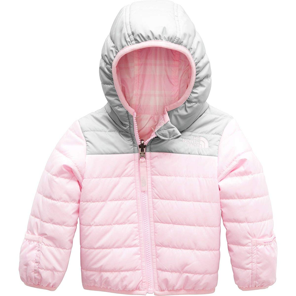 5a394b07e0d8 The North Face Infant Rev Perrito Jacket - Purdy Pink - 6M  Amazon ...