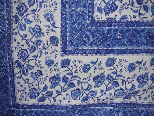 Block Printed (Rajasthan Block Print Tapestry Cotton Spread 106