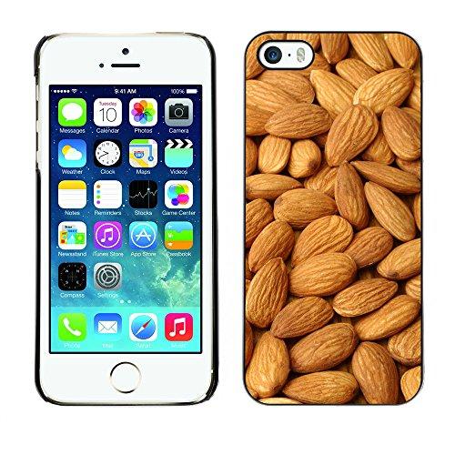 Premio Sottile Slim Cassa Custodia Case Cover Shell // V00002010 Amandes // Apple iPhone 5 5S 5G