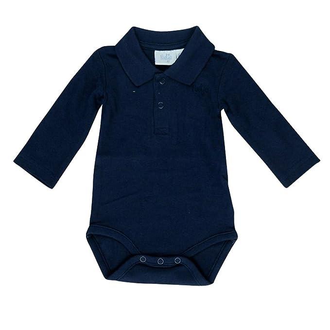 Feetje - Body para bebé con Cuello de Polo 502057 Marine 010 80 ...