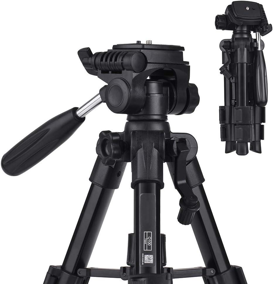LWL Digital Camera Tripod with Quick Release Platform for Canon Nikon Digital SLR Camera Smartphones