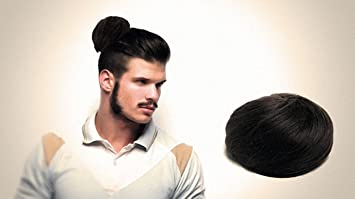 Amazon the original man bun instant clip on bun hair the original man bun instant clip on bun hair extension black pmusecretfo Choice Image