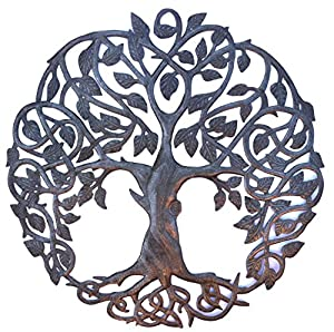 High Quality New Design Celtic Inspired Tree Of Life, Metal Wall Art, Fair Trade From  Haiti, 23 Part 7