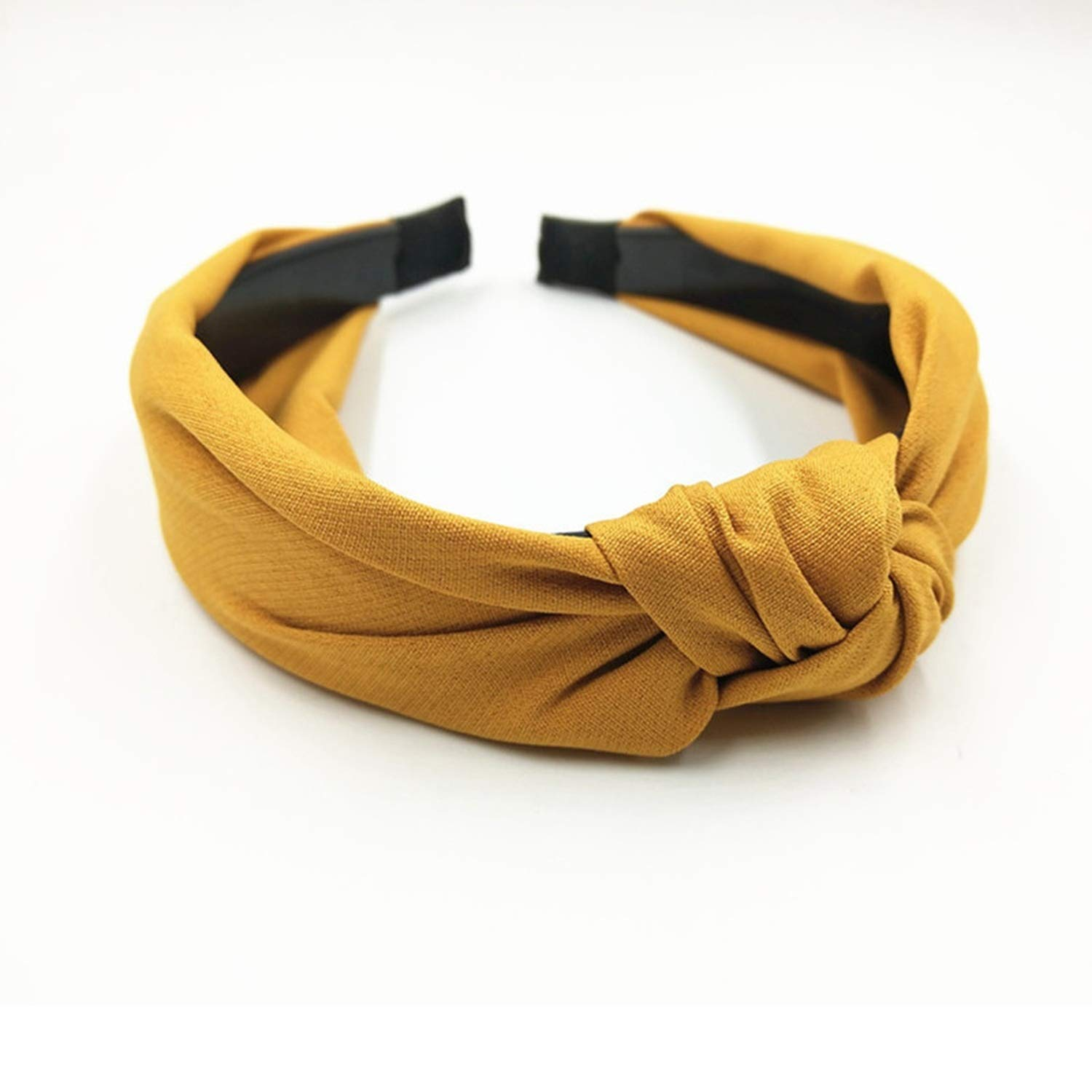 Solid Color Headband for Women Wide Knot Hairband Girls Hair Headband Hair Hoop Women Hair Accessories Adults Headband Toothed,color 2
