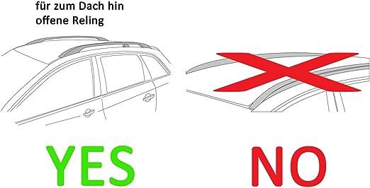 K39 Dachträger Relingträger Vdp Lion2 Kompatibel Mit Nissan Qashqai J11 5 Türer Ab 14 Auto