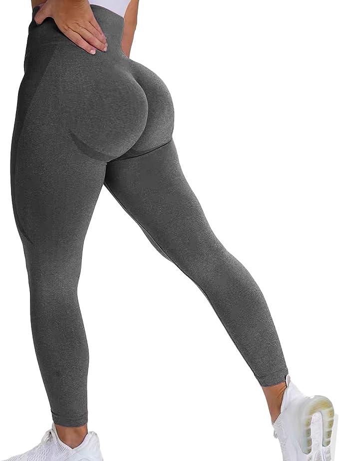 KIWI RATA Gym Leggings Damen Hohe Taille Sport Fitness Leggins Nahtlose Kompression Yoga Hose Blickdicht Tights f/ür Jogging Workout Streetwear