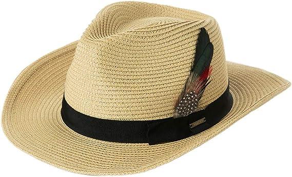 sombrero de playa para hombre sombrero de paja tribly sombrero de verano Comhats Sombrero unisex para el sol