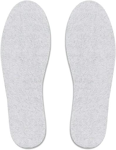 CD11535 - Plantillas para zapatos de algodón rizado, protege de hongos y del mal olor. MWS: Amazon.es: Zapatos y complementos