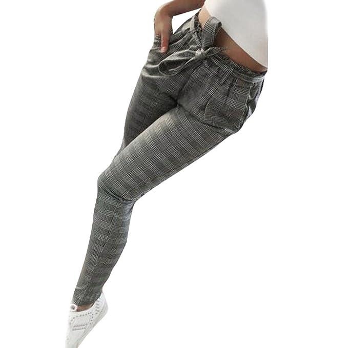 Gusspower Pantalones Casual para Mujer dfb153ea7ce