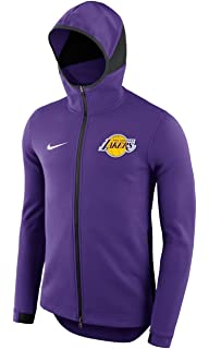 81a088fad65 Amazon.com  Los Angeles Lakers Nike Men s On-Court Purple Therma ...