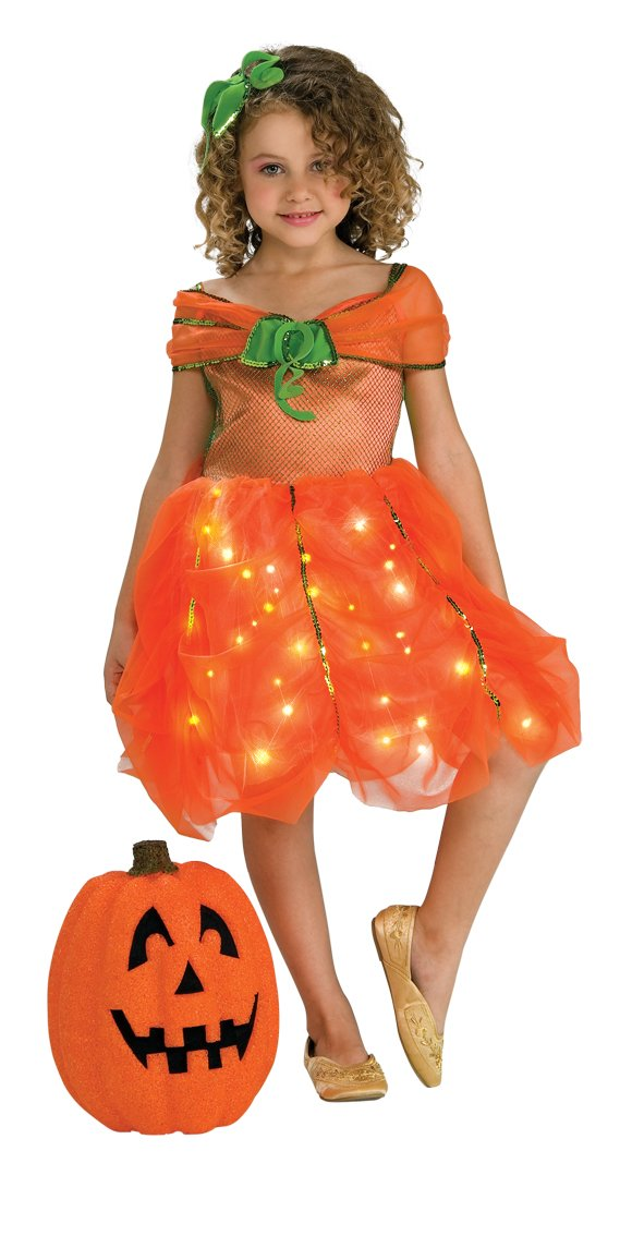 amazoncom childs twinkle pumpkin princess costume medium toys games - Halloween Princess Costumes For Toddlers