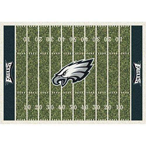 Philadelphia Eagles NFL Team Home Field Area Rug by Milliken, 5'4