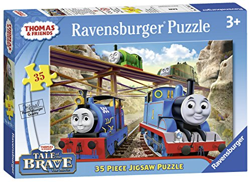 (Ravensburger Thomas & Friends Tale of The Brave 35 Piece Jigsaw Puzzle for Kids – Every Piece is Unique, Pieces Fit Together Perfectly)