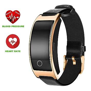 Reloj deportivo, ZIMINGU® CK11S Pulsera Inteligente Bluetooth con Presión Arterial Monitor de Frecuencia Cardíaca
