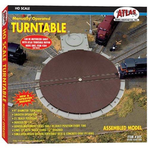 Atlas 305 Turntable - Nickel Silver by Atlas Atlas Turntable