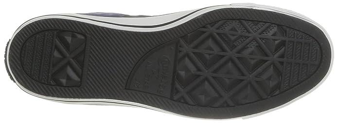 Converse Ctas Tie Dye Hi 358280-61-53 - Zapatillas de tela para unisex-adultos, color azul, talla 45