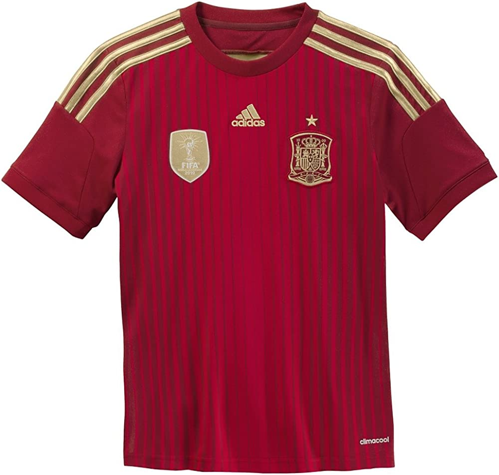 adidas Spain Home Jersey Youth 2014-2015