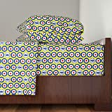 Roostery Mod 3pc Sheet Set Keep The Faith by Louisehenderson Twin Sheet Set made with