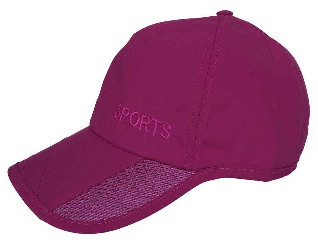 Toyobuy Outdoor Sport Thin Waterproof Sun Baseball Hat Peaked Cap Burgandy by Toyobuy
