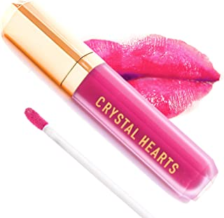 product image for CrystalHearts Matte Liquid Lipstick - Long-Lasting and Non Transfer Kiss Proof Makeup Lip Gloss- Cruelty & Paraben Free Hydrating Lip - Made in USA (Chloe)