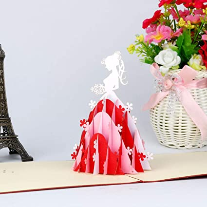 Amazon com : Greeting Cards for Mothers Day 3D Pop Up Cards Lover