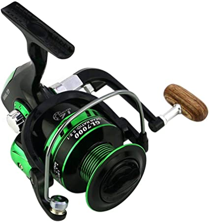 "Sports /"" Outdoors green Vivoice Reels 200 A Line Small Spinning Fishing Tackle"