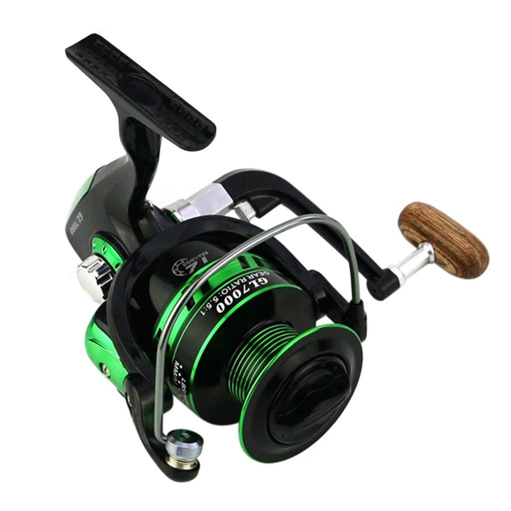 Zoom Fishing Baits,Full Metal Spinning Reel 5.5:1 10BB Casting Reels 8kg/17Lb Fishing Reels