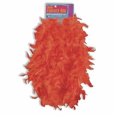 amazon com 70 s 80 s neon feather boa feathered boas costume
