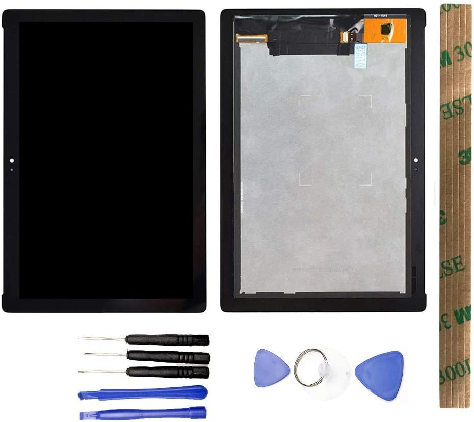 Z301MF WiFi Edition 1920 x 1080 Pixel Color : Black Black LCD Screen Mobile Phone and Digitizer Full Assembly for Asus ZenPad 10 Z301MFL LTE Edition