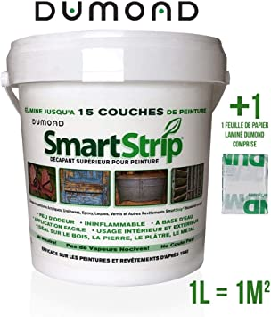 Smart Strip - Decapante de pintura biodegradable (1 L) – Gel con ...