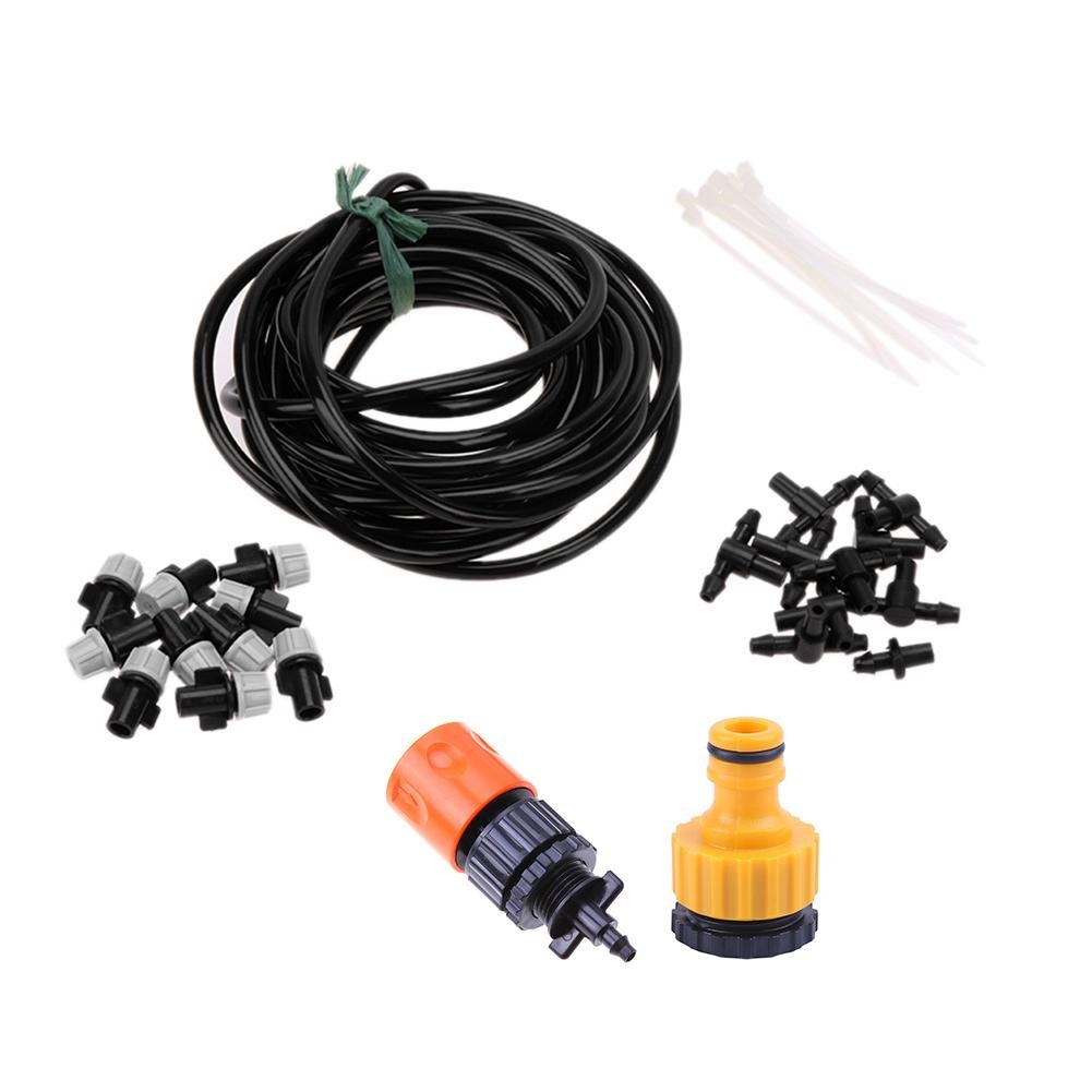 AnySell DIY Watering Kit Single Outlet Atomizing Nozzle Sprinkler Irrigation Set(M)