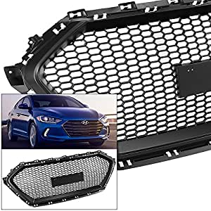 Amazon.com: Front Grille for Hyundai Elantra 2017-2018 Sedan ...