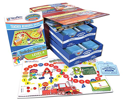 NewPath Learning 3 Piece Curriculum Mastery (ELA, Math & Science) Game Set, Grade 1, Class-Pack