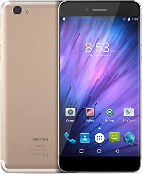 vernee Mars Smartphone 4G - Android 6.0, Octa Core, Pantalla 5.0 ...