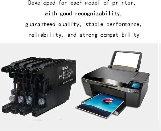 GYBN Cartucho de Impresora de Gran Capacidad, Color Negro para Impresora HP 711 Designjet T520 T120 Cartucho de Plotter 711: Amazon.es: Electrónica