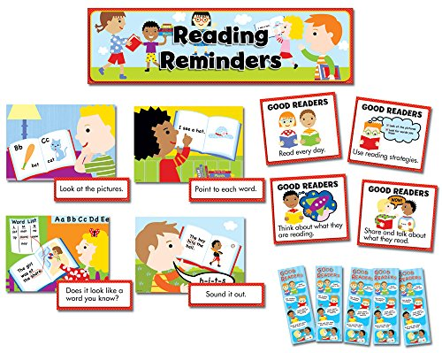 (Creative Teaching Press Mini Bulletin Board Set, Reading Reminders Language Arts (3795))