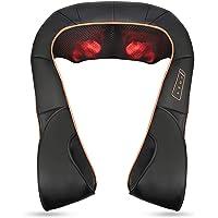 Masajeador Eléctrico de Cuello y Espalda Shiatsu Masajeador Hombros con Calor y 3D…